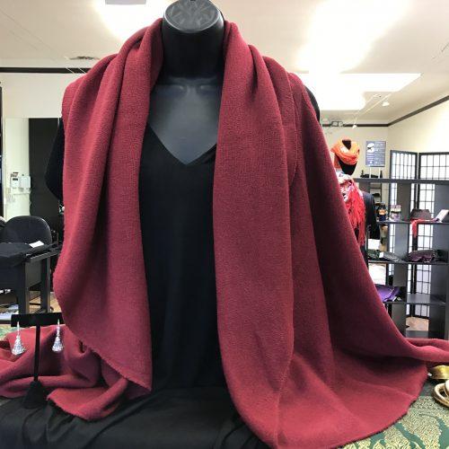cape vest front