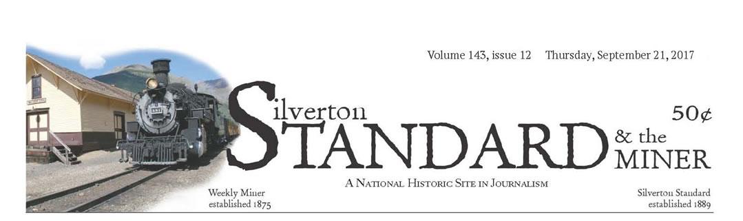 Silverton Standard Page 1